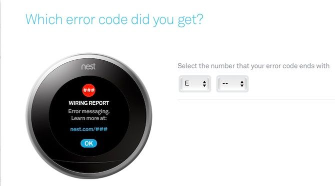 How to Set Up and Use Your Nest Learning Thermostat nest error code