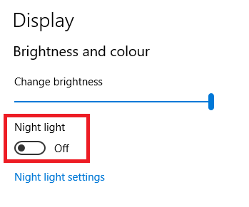 Why Use the Windows 10 Action Center Instead of the Settings App? night light windows 10