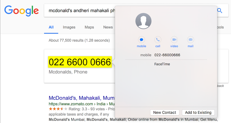 mac force touch phone number add