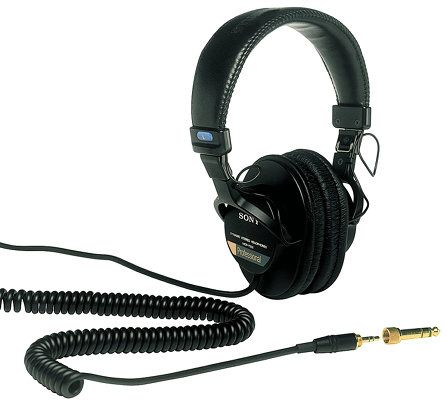 The Best Podcast Equipment for Starters and Enthusiasts podcast equipment headphones sony mdr7506