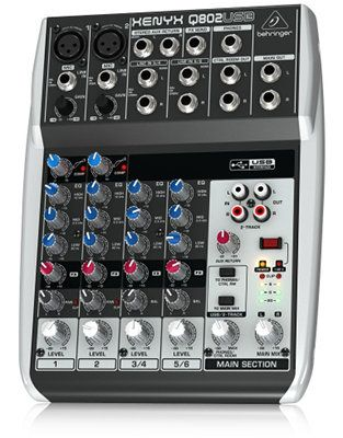The Best Essential Equipment for Creating a Podcast podcast equipment mixer behringer q802usb