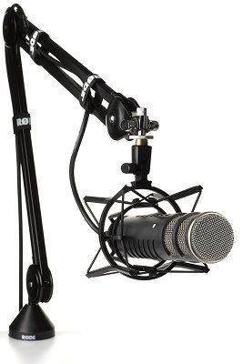 The Best Podcast Equipment for Starters and Enthusiasts podcast equipment stand rode psa1
