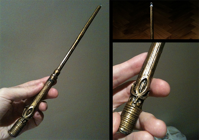 3d print harry potter wand