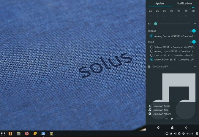solus notifications linux
