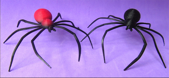 spiders 3d print
