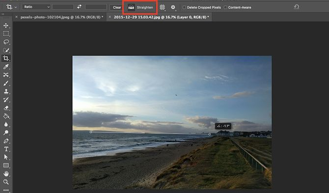 Learn Photo Editing in Photoshop: Get the Basics Down in 1 Hour straighten