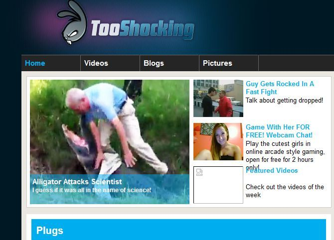 6 Shocking Video Websites to See News They Won't Show You On TV tooshocking videos
