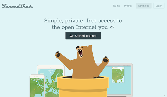 Your Guide to the International Web tunnelbear vpn screenshot 1 670x388