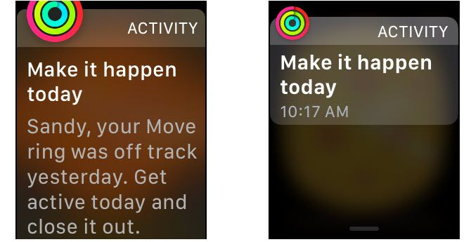 watchos4 new feature daily inspiration