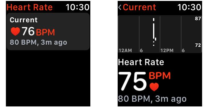 watchos4 new feature heart rate app
