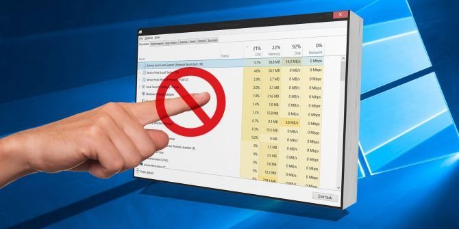 7 Windows Task Manager Processes You Should Never Kill