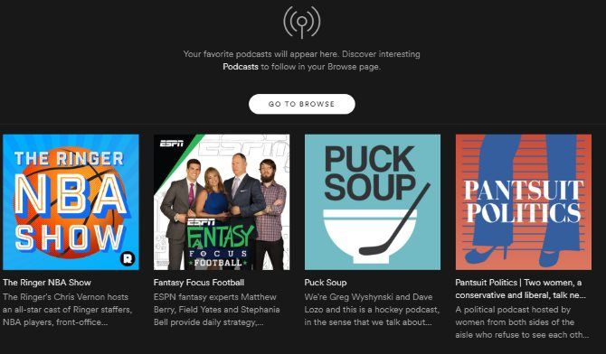 Spotify Music Streaming: The Unofficial Guide 07 Spotify My Podcasts