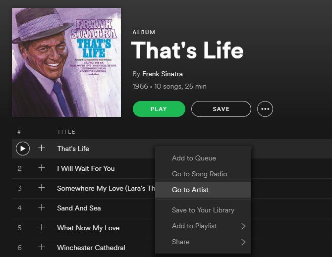 Spotify Music Streaming: The Unofficial Guide 18 Spotify Right Click Desktop