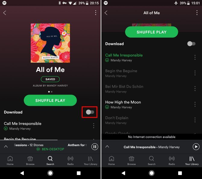 Spotify Music Streaming: The Unofficial Guide 22 Spotify Mobile Save Offline