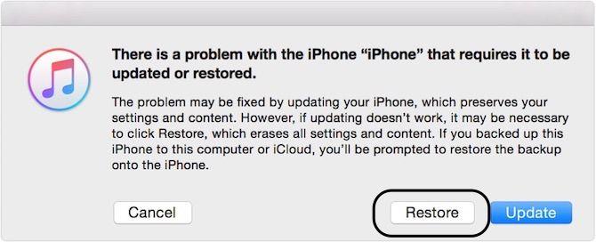 forgot iphone passcode