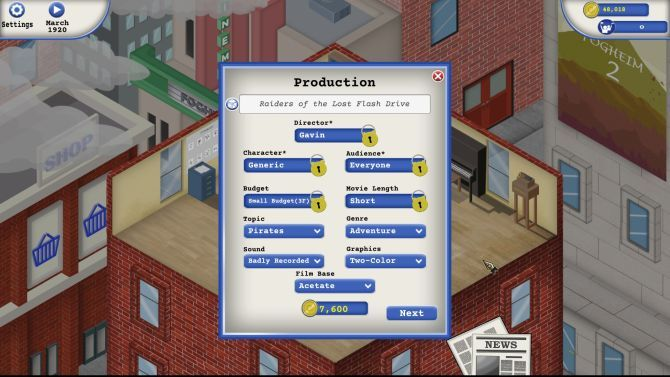 Top 10 Free Online Tycoon Games You Should Try Animation Studio Tycoon Film Naming