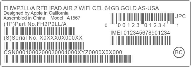 What Is My Phone's IMEI and What Is It For? Apple iPad Code