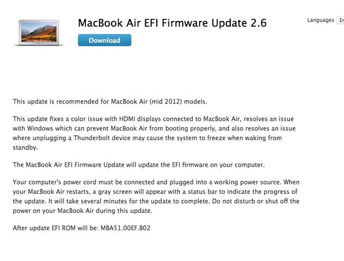 out-of-date efi firmware mac risk