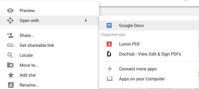 How to Edit PDFs Online for Free Edit PDFs in Google Drive