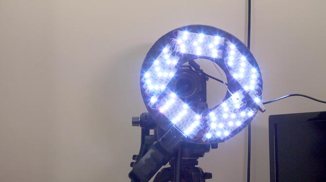 make your own diy led ring light youtube videos