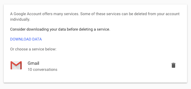 safely delete google or gmail account