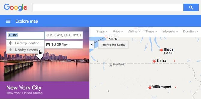 A Google Flights Trick for More Enjoyable Travel During Holidays Google Flights Nearby Airport