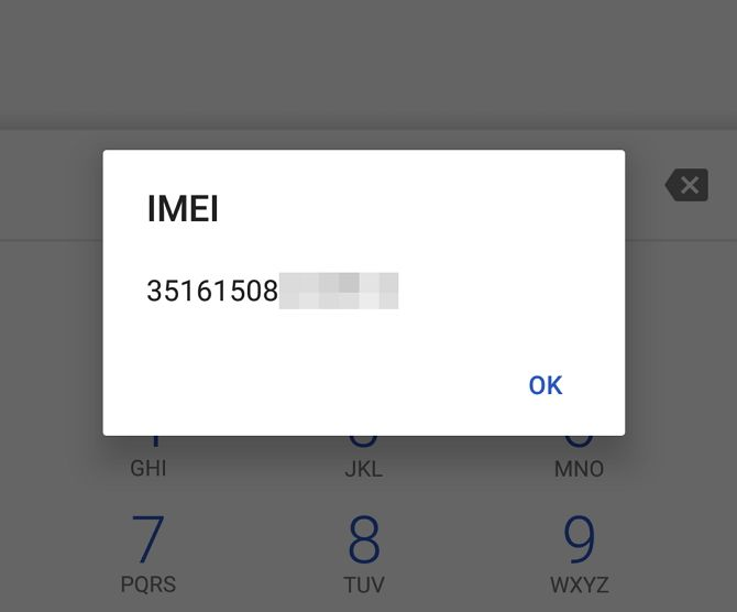 What Is My Phone's IMEI and What Is It For? IMEI Dialler Screenshot