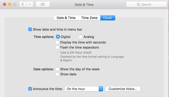 How to Make Your Mac Announce the Time at Specified Intervals Mac Announce Time