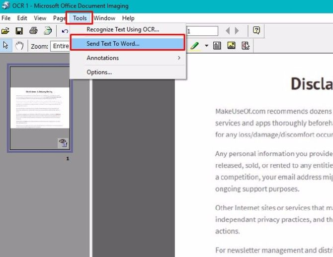 convert pdf to text ocr free