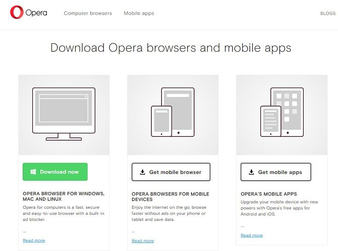 What Is the Most Secure Mainstream Browser? Opera download