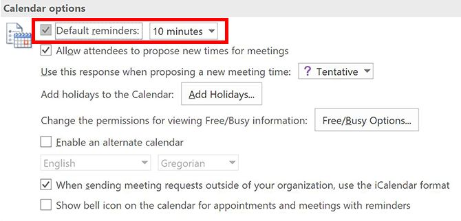 How to Disable Annoying Outlook Calendar Reminders Outlook Calendar Reminders