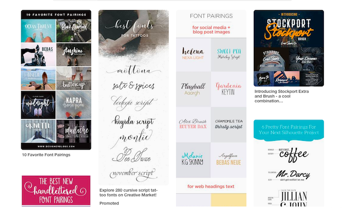 strategies and tools for perfect font combinations pinterest