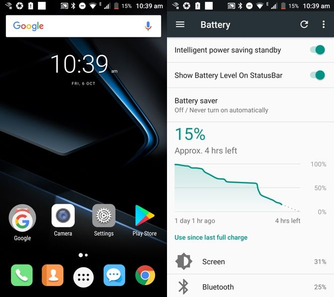 Doogee BL7000 Review: The Biggest Battery Ever, But It Still Doesn't Last Two Days Screenshot Battery