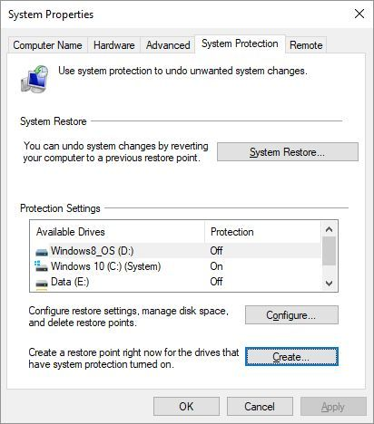 Do This Before Every Windows 10 Update or Installation System Restore Windows 10