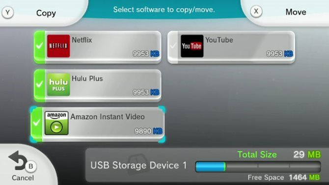 Expanded Storage For Your Wii U Explained Wii U Copy Move Data