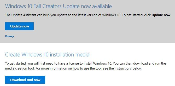 Windows 10 Manual Installation