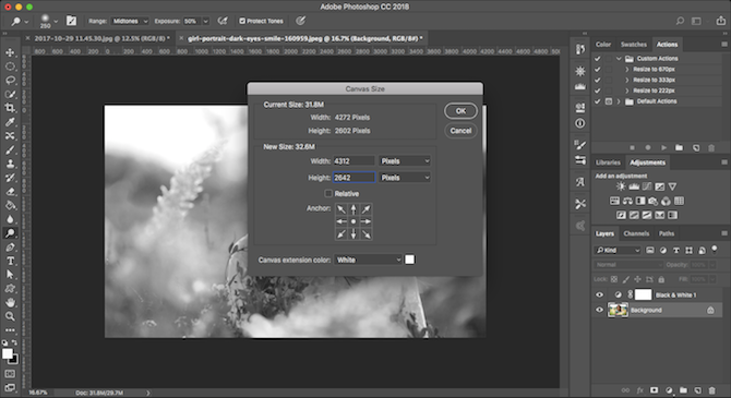 Learn Photo Editing in Photoshop: Get the Basics Down in 1 Hour add border