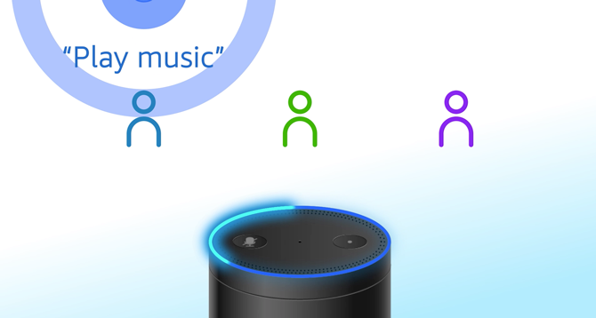 personal amazon echo for multiple users
