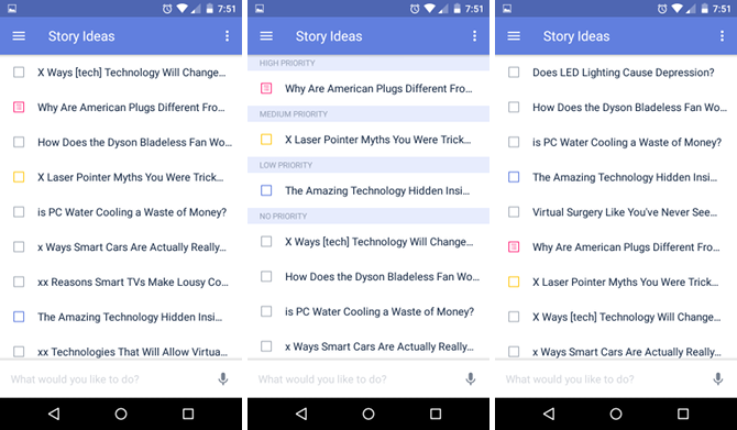 Why TickTick Is the Best To-Do App for Android android ticktick sorting