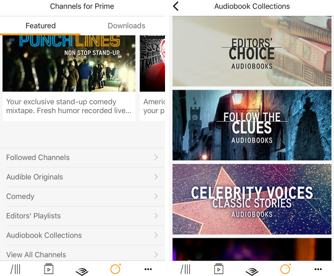 audible pro tips audiobook collections
