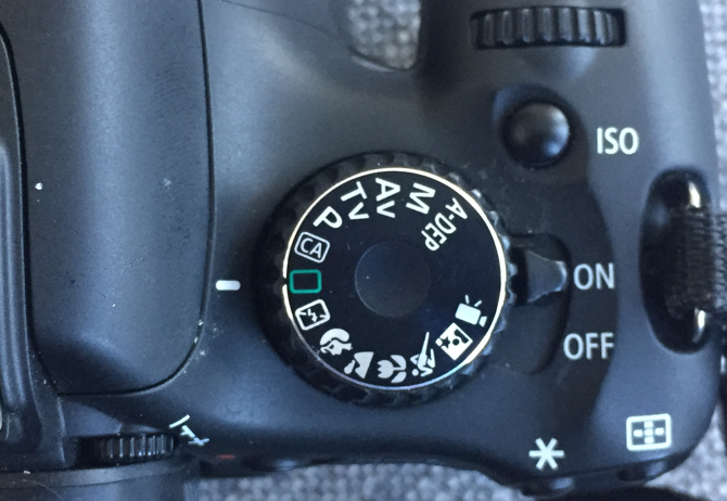 A Beginner's Guide To Digital Photography auto mode