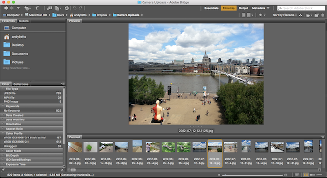 Learn Photo Editing in Photoshop: Get the Basics Down in 1 Hour bridge 1