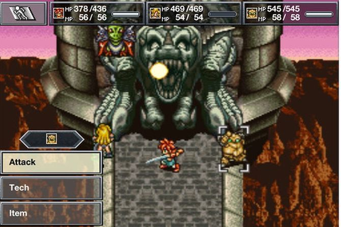 chrono trigger console game to mobile