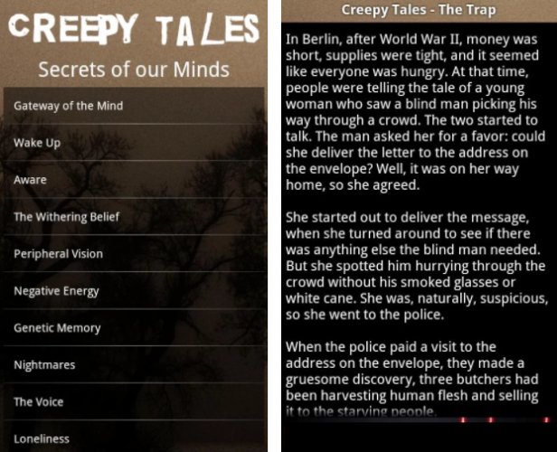 You Need These 13 Android Apps to Be Ready for Halloween creepy tales 616x500