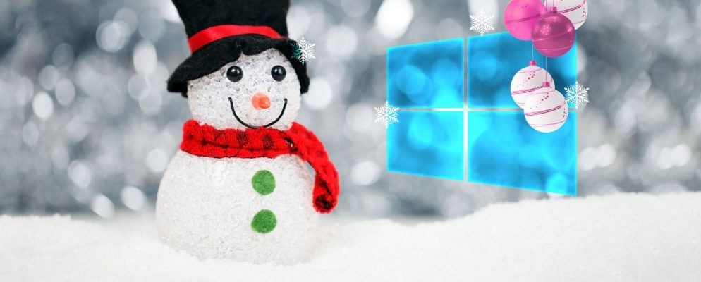 How To Add A Christmas Theme To Windows 10