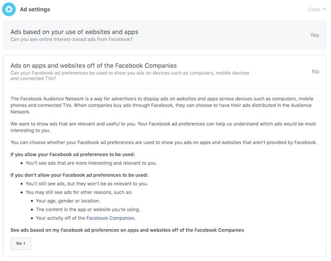 The Complete Facebook Privacy Guide facbeook privacy ads ad settings 2
