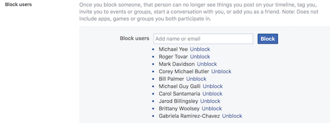 The Complete Facebook Privacy Guide facbeook privacy block user