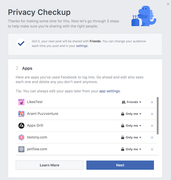 The Complete Facebook Privacy Guide facebook privacy check apps