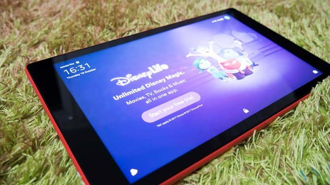 Amazon Fire HD 10 (2017) Review: The Best Value Tablet Around fire hd 10 review disney ads