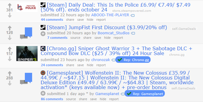 Top 7 Sites for Video Game Deals & Bargains gaming deals reddit gamedeals